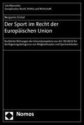 Der Sport im Recht der Europäischen Union