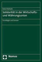 Solidarität in der Wirtschafts- und Währungsunion