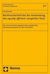 Rechtssicherheit bei der Anwendung des equally efficient competitor-Tests