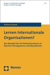 Lernen Internationale Organisationen?