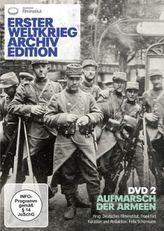 Erster Weltkrieg Archivedition, 1 DVD. Tl.2