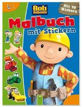 Bob der Baumeister - Malbuch mit Stickern