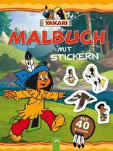 Yakari - Malbuch mit Stickern