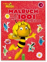 Die Biene Maja - Malbuch mit 1001 Stickern
