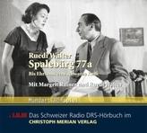 Spalebärg 77a, 1 Audio-CD