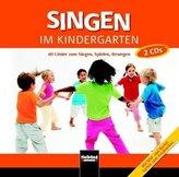 Singen im Kindergarten, 2 Audio-CDs