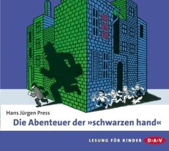 Die Abenteuer der 'schwarzen hand', 2 Audio-CDs