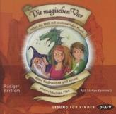 Die magischen Vier retten die Welt mit wummernder Musik, einer Badewanne und einem undurchdachten Plan, 2 Audio-CDs