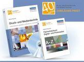 Druck- und Medientechnik, m. DVD-ROM. Fachwörterbuch Digital- und Printmedien, 2 Bde.