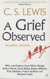 A Grief Observed, Readers' Edition. Über die Trauer, englische Ausgabe