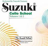 Suzuki Cello School, 2 Audio-CDs. Vol.1+2