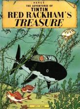 The Adventures of Tintin - Red Rackham's Treasure. Der Schatz Rackhams des Roten, englische Ausgabe