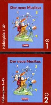 3. Schuljahr, Hörbeispiele, 2 Audio-CDs. Tl.1-2