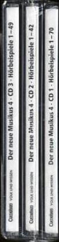 4. Schuljahr, Hörbeispiele, 3 Audio-CDs. Tl.1-3