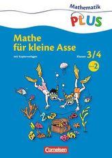 Mathe für kleine Asse, 3./4. Schuljahr. Bd.2