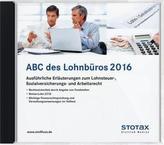 ABC des Lohnbüros 2016, 1 DVD-ROM