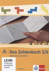3./4. Schuljahr, Interaktive Tafelbilder, CD-ROM