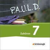 7. Schuljahr, Zuhören, 2 Audio-CDs