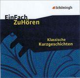 Klassische Kurzgeschichten, 1 Audio-CD