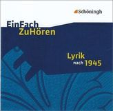 Lyrik nach 1945, 1 Audio-CD