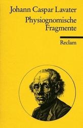 Physiognomische Fragmente zur Beförderung der Menschenkenntnis und Menschenliebe