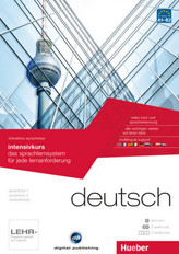 Intensivkurs, DVD-ROM m. 2 Audio-CDs u. 2 Textbücher