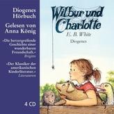 Wilbur und Charlotte, 4 Audio-CDs