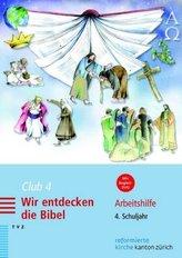 Club 4. Wir entdecken die Bibel, m. DVD