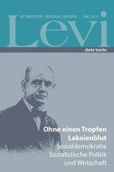 Levi - Schriften, Reden und Briefe. Bd.II/1