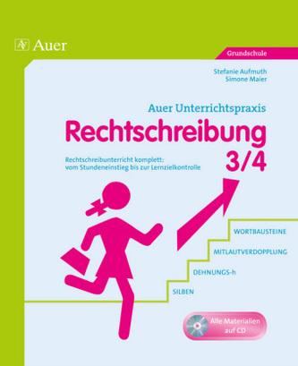 Rechtschreibung 3/4, m. CD-ROM