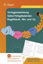 Vorlagensammlung Geburtstagskalender, Regelbaum, Abc und Co., 1 CD-ROM