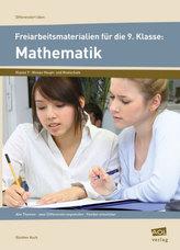 Freiarbeitsmaterialien für die 9. Klasse: Mathematik