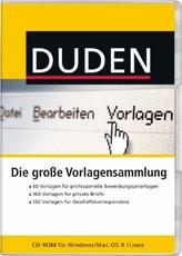 Duden - Die große Vorlagensammlung, CD-ROM