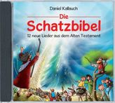 Die Schatzbibel - 12 neue Lieder aus dem Alten Testament, Audio-CD
