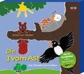 Die Drei vom Ast - Die Hörspiel-Sammelbox, 4 MP3-CDs