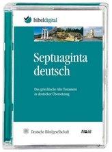 Septuaginta Deutsch, 1 CD-ROM
