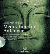 Meditation für Anfänger, m. Audio-CD