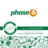 phase6 - mehr als ein Vokabeltrainer, Schachtel mit Codekärtchen und Infobroschüre