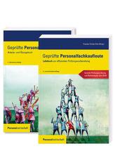 Geprüfte Personalfachkaufleute, Lehrbuch (6. Auflage) und Arbeits- und Übungsbuch (3. Auflage), 2 Bde.