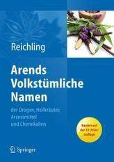Arends Volkstümliche Namen der Drogen, Heilkräuter, Arzneimittel und Chemikalien, CD-ROM