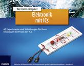 Lernpaket Elektronik mit ICs, 30 Komponenten, große Experimentierplatine + Handbuch