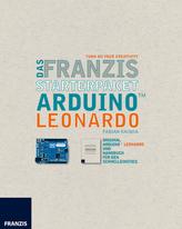 Das Franzis Starterpaket Arduino Leonardo, Platine und Handbuch
