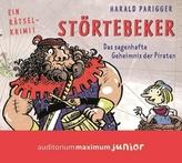 Störtebeker - Das sagenhafte Geheimnis der Piraten, Audio-CD