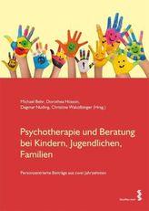Psychotherapie und Beratung bei Kindern, Jugendlichen, Familien