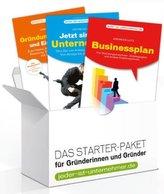 Starter-Paket für Gründerinnen und Gründer, 3 Bde.