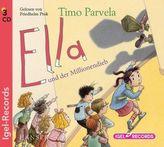 Ella und der Millionendieb, 3 Audio-CDs