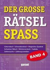 Der große Rätselspaß. Bd.4