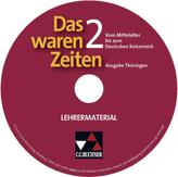 Vom Mittelalter bis zum Deutschen Kaiserreich, Lehrermaterial, CD-ROM