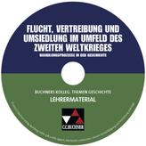 Flucht, Vertreibung und Umsiedlung im Umfeld des Zweiten Weltkrieges, Lehrermaterial auf CD-ROM