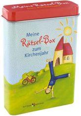 Meine Rätsel-Box zum Kirchenjahr (Kinderspiel)
